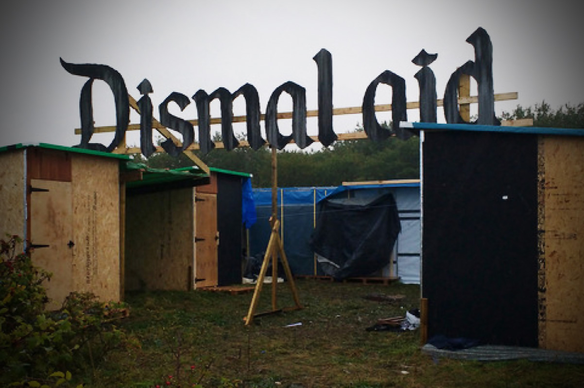 Banksy, Dismaland, Dismal aid, Calais, the jungle