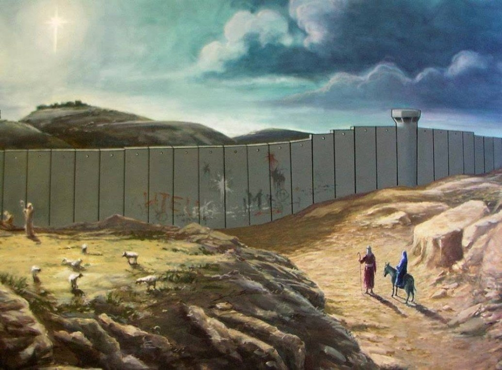 Banksy - Gaza Strip / Santas Ghetto