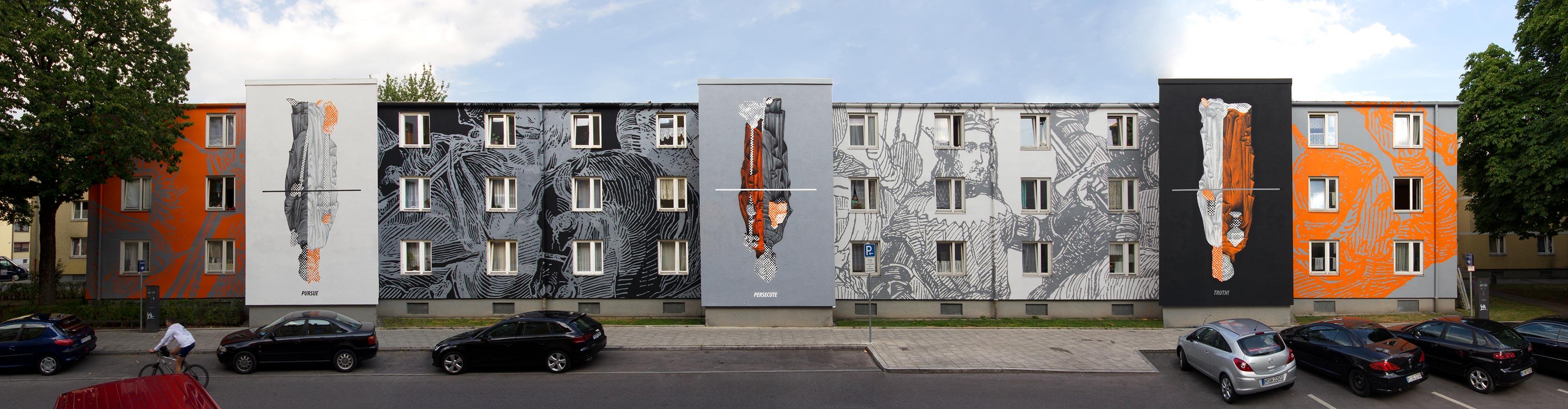 Streetart in München Westend