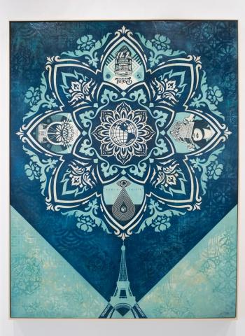 A Delicate Balance / Earth Crisis Exhibition / Shepard Fairey 2016