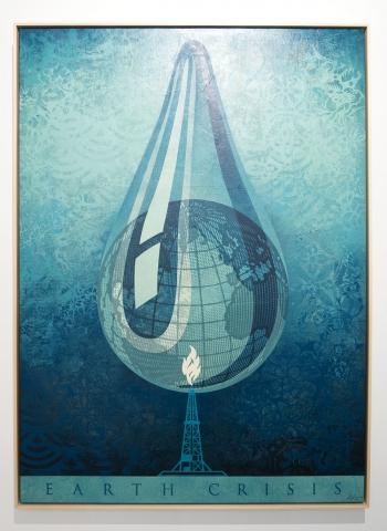 Earth Crisis Drop / Earth Crisis Exhibition / Shepard Fairey 2016