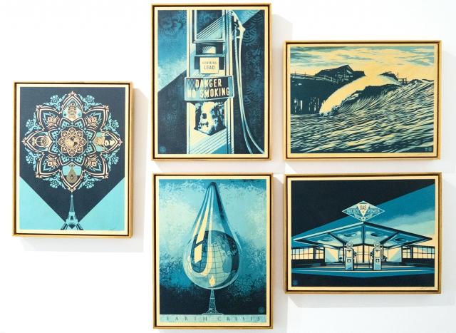 EARTH CRISIS - prints on wood | Shepard Fairey