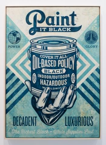 Paint it Black / Earth Crisis Edition / Shepard Fairey 2016