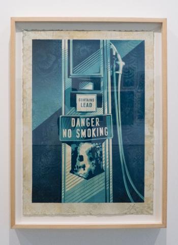 Danger No Smoking / Earth Crisis Exhibition / Shepard Fairey 2016