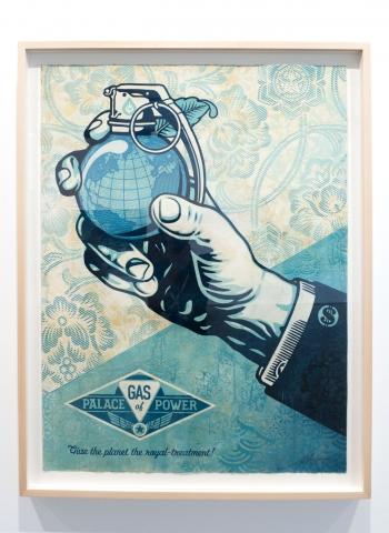 Obey Royal Treatmant Money / Earth Crisis Exhibition / Shepard Fairey 2016