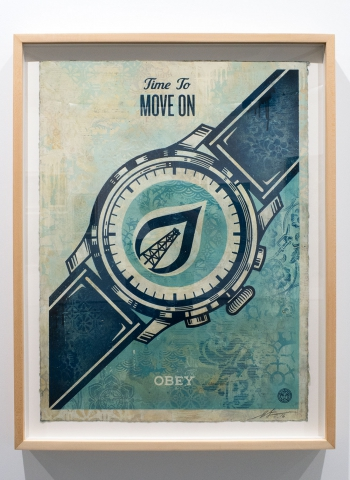 Time To Move ON / Earth Crisis Exhibition / Shepard Fairey 2016