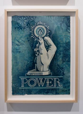 Power Bidder / Earth Crisis Exhibition / Shepard Fairey 2016