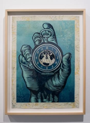 High Time / Earth Crisis Exhibition / Shepard Fairey 2016