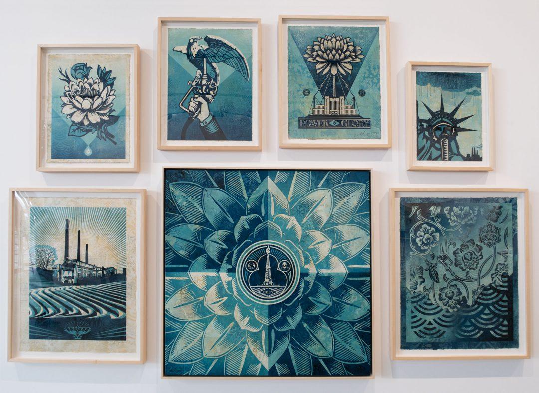 Shepard Fairey - Earth Crisis / Paintings