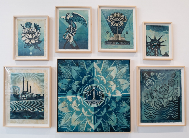 Various Paintings / Earth Crisis Exhibition / Shepard Fairey 2016