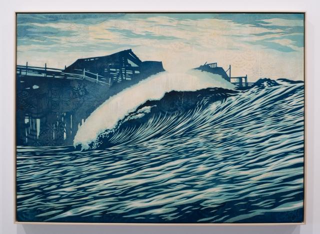 P.O.P. Wave / Earth Crisis Exhibition / Shepard Fairey 2016