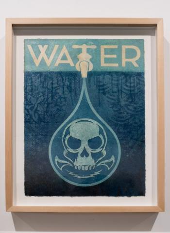 Water / Earth Crisis Exhibition / Shepard Fairey 2016