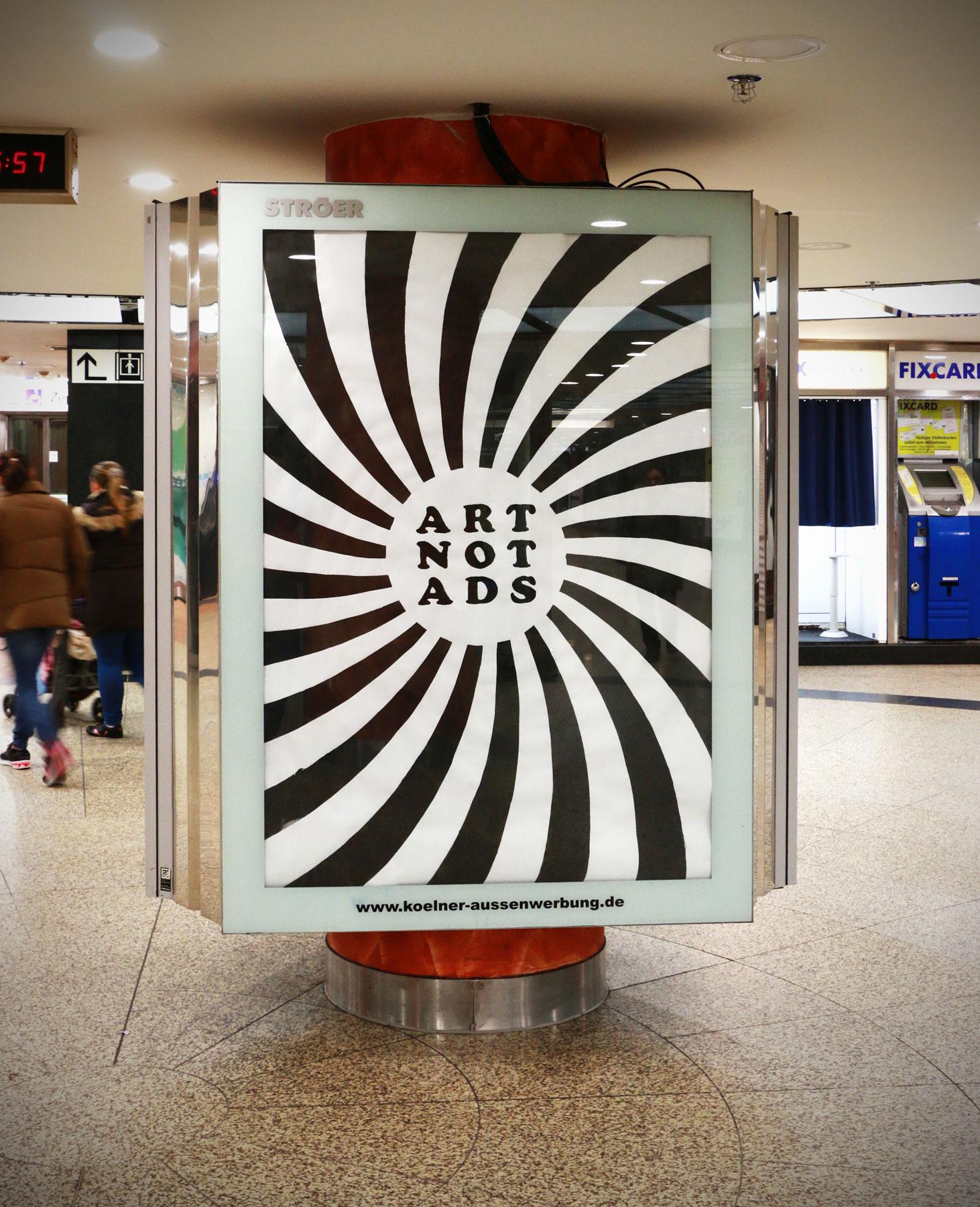 Street-Art - Dies Irae / Adbusting