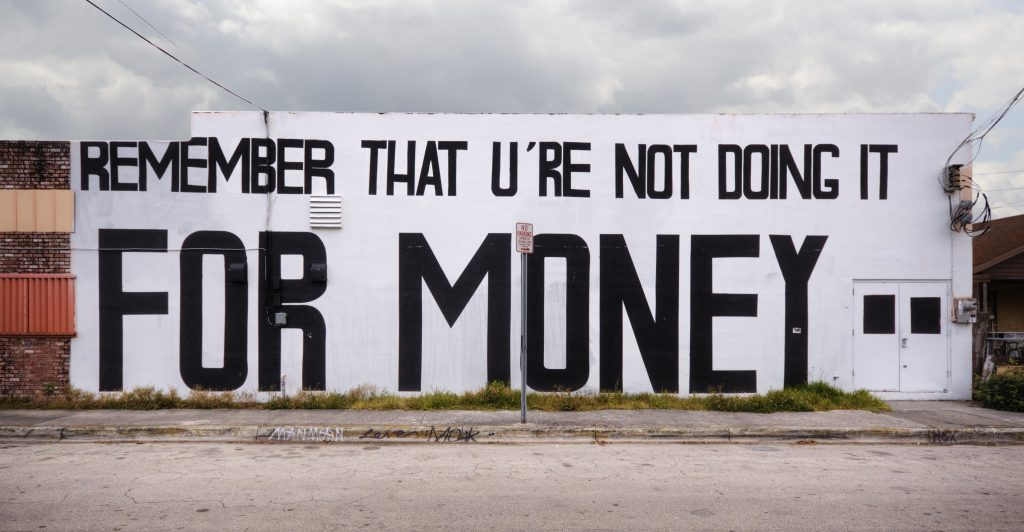 Escif - Remember you are not doing it for money